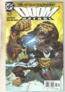 Doom Patrol #7 comic book mint 9.8