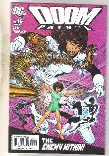 Doom Patrol #16 comic book mint 9.8