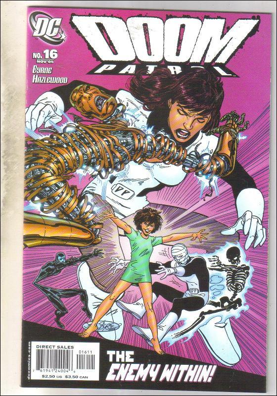 Doom Patrol #16 comic book mint 9.8