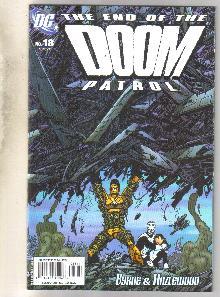 Doom Patrol #18 comic book mint 9.8