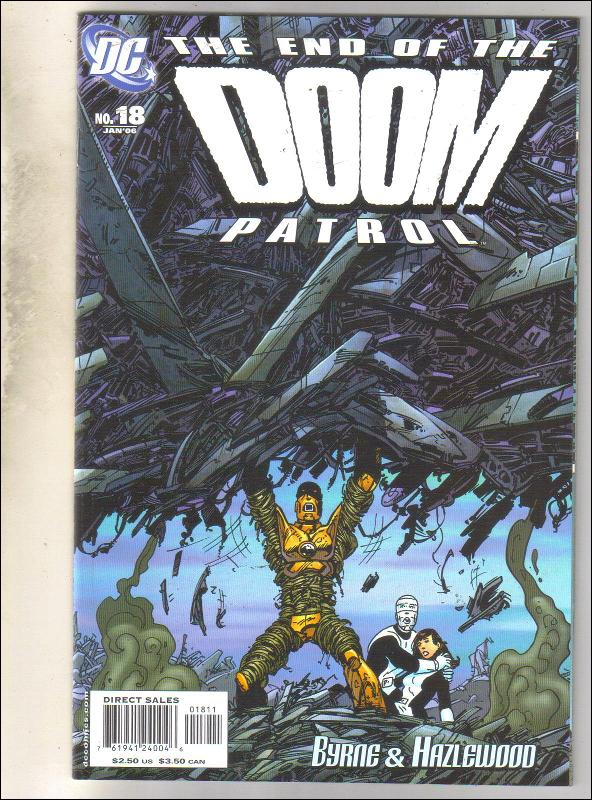 Doom Patrol #18 comic book mint 9.8