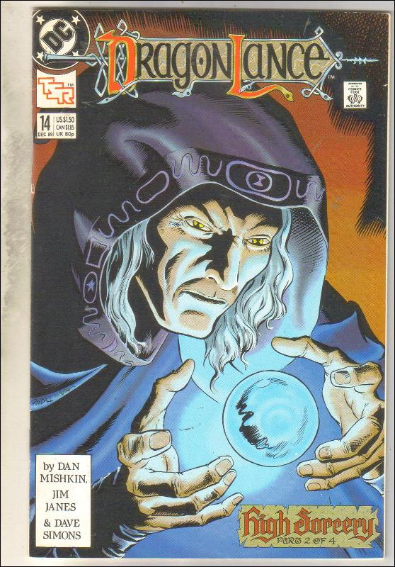 Dragonlance #14 TSR comic book near mint 9.4