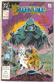 Dragonlance #15 TSR comic book near mint 9.4