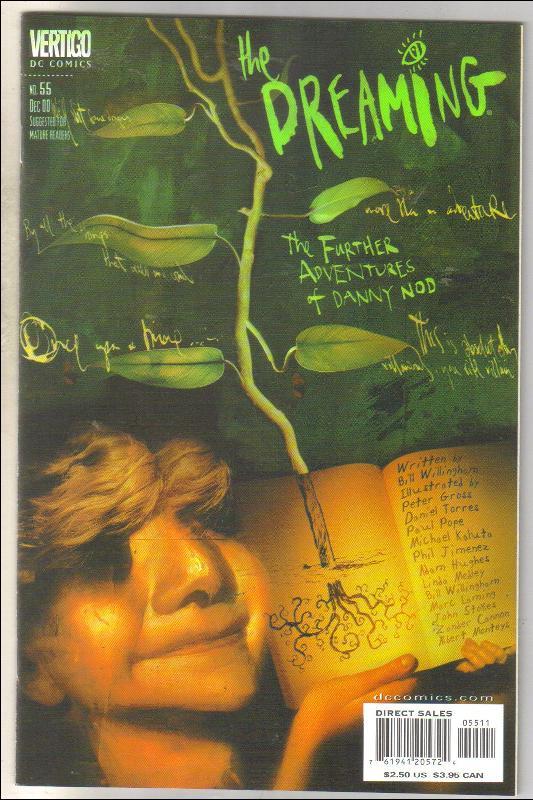 The Dreaming #55 Vertigo  comic book mint 9.8