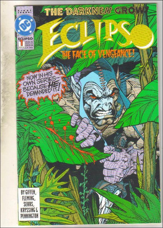 Eclipso #1 comic book near mint 9.4