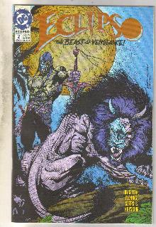Eclipso #2 comic book near mint 9.4