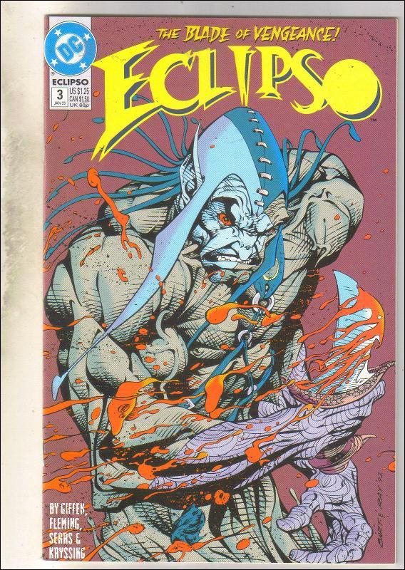 Eclipso #3 comic book near mint 9.4