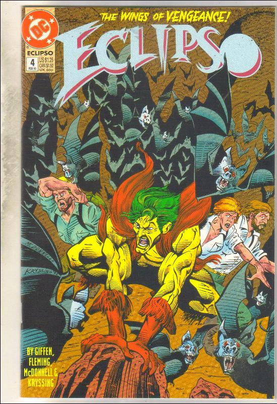 Eclipso #4 comic book mint 9.8