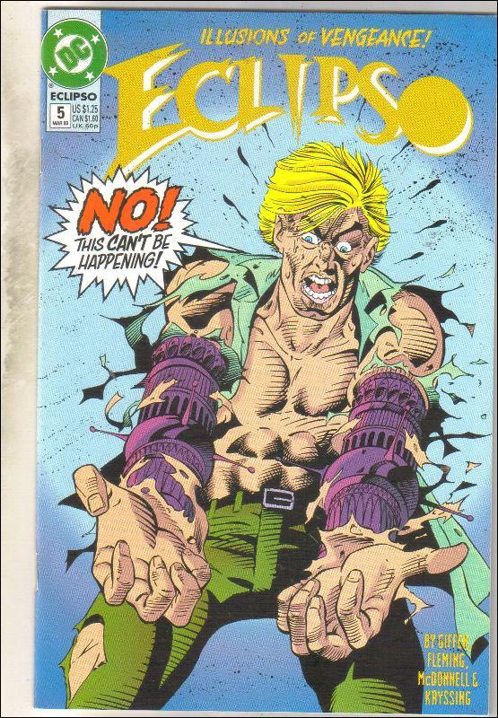 Eclipso #5 comic book mint 9.8