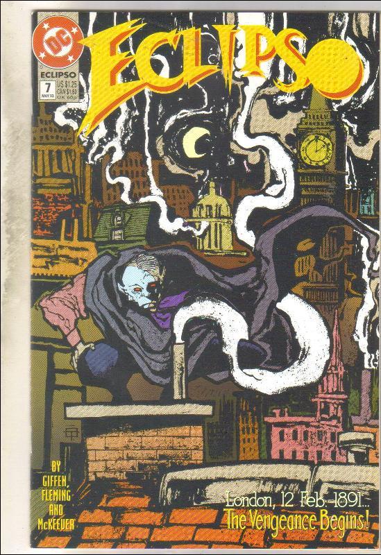 Eclipso #7 comic book mint 9.8