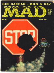 Mad Magazine #47 vg 4.0