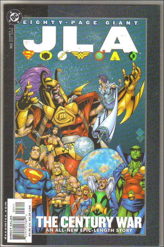 Eighty Page Giant #3 JLA comic book mint 9.8