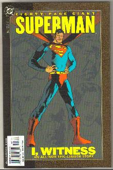 Eighty Page Giant #3 Superman comic book near mint 9.4