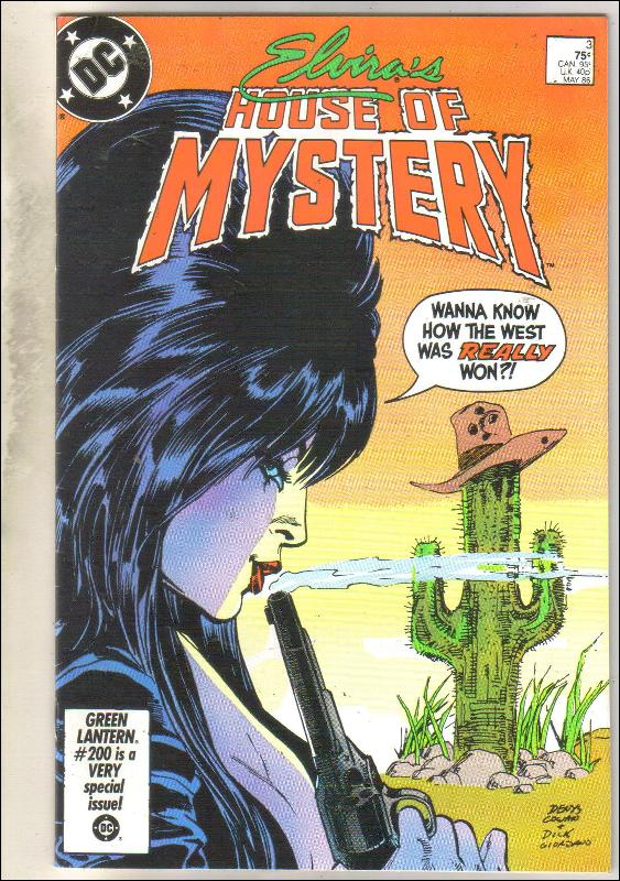 Elvira's House of Mystery #3 comic book near mint 9.4