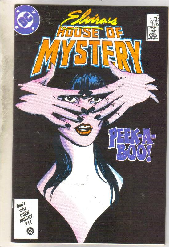 Elvira's House of Mystery #4 comic book near mint 9.4