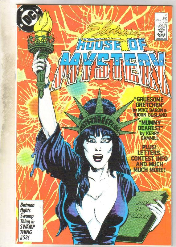 Elvira's House of Mystery #8 comic book near mint 9.4