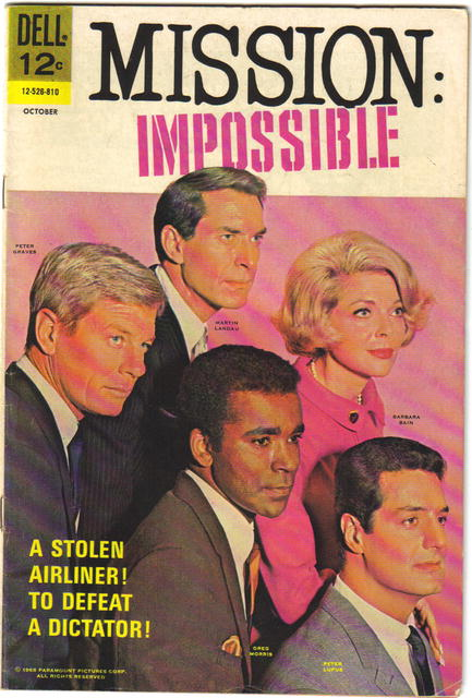 Mission Impossible #4 comic book fn 6.0