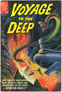 Voyage to the Deep #1  comic book fn+ 6.5