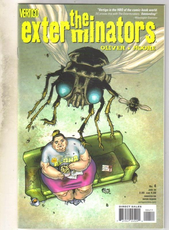 Exterminators #4 comic book mint 9.8