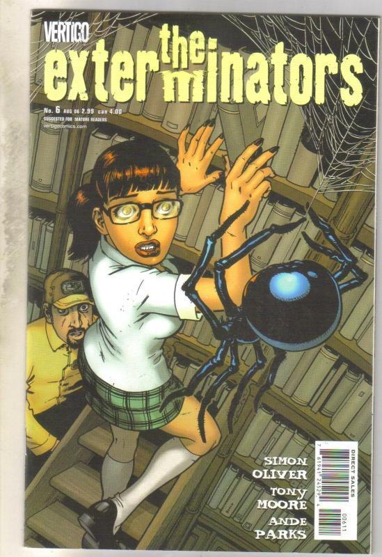 Exterminators #6 comic book near mint 9.4