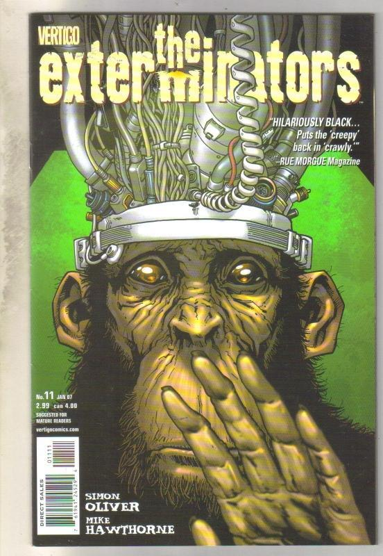 Exterminators #11 comic book mint 9.8