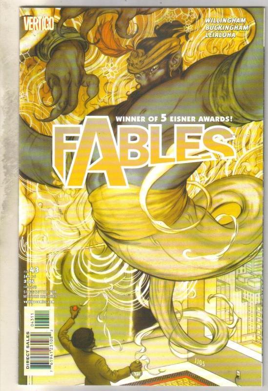 Fables #43 comic book mint 9.8