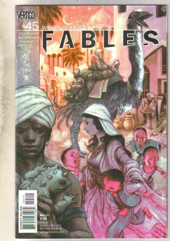 Fables #45 comic book mint 9.8