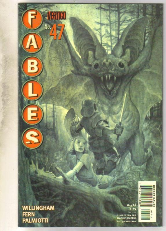 Fables #47 comic book mint 9.8