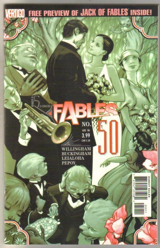 Fables #50 comic book mint 9.8