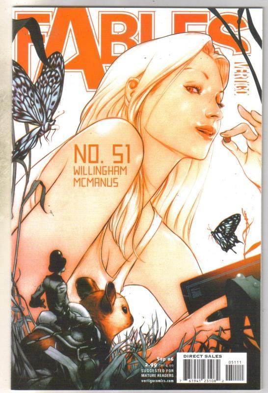 Fables #51 comic book mint 9.8
