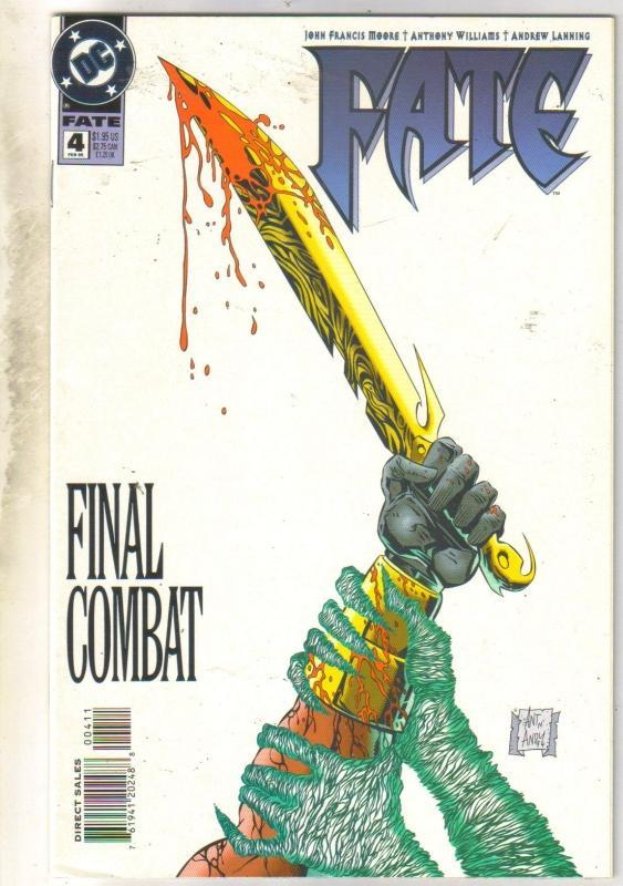 Fate #4 comic book near mint 9.4