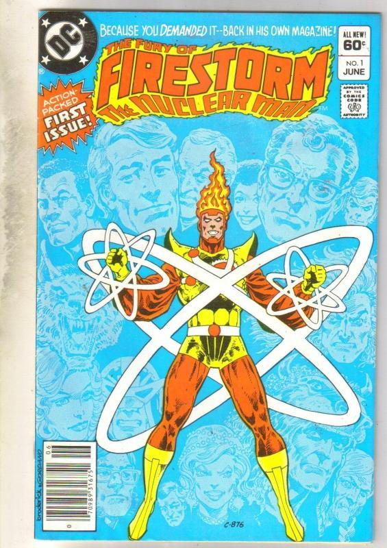 Firestrorm The Nuclear Man #1 comic book near mint 9.4