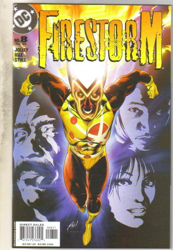 Firestorm #8 comic book mint 9.8