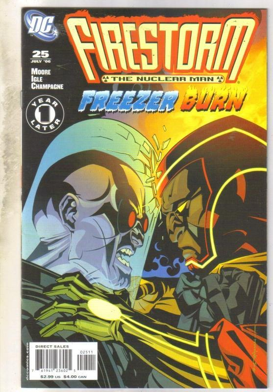 Firestorm #25 comic book mint 9.8