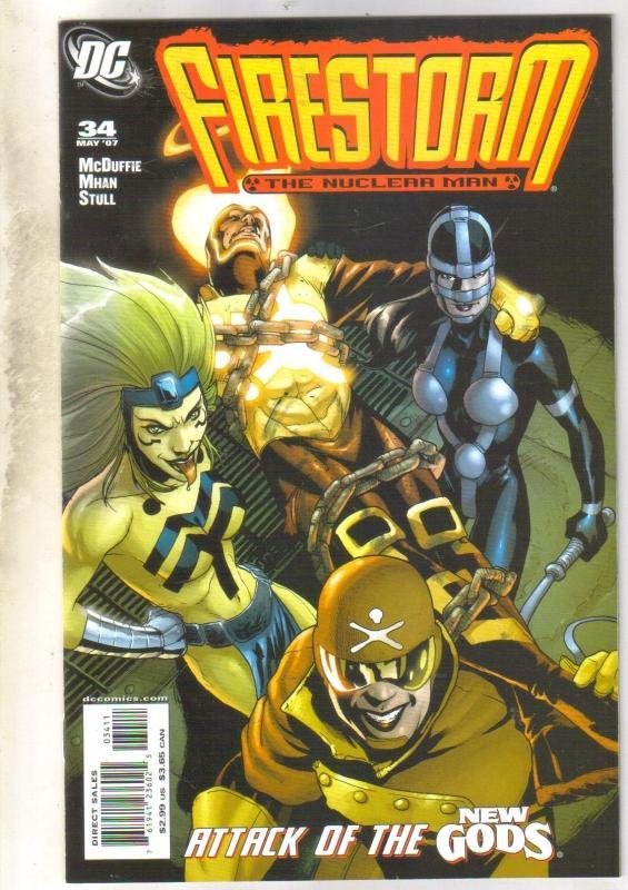 Firestorm #34 comic book mint 9.8