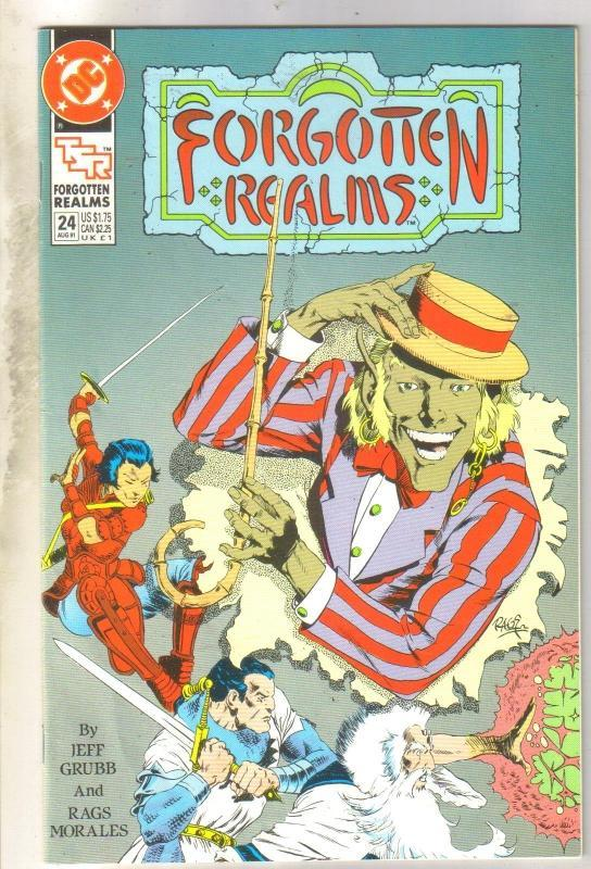 Forgotten Realms #24 (TSR) comic book near mint 9.4