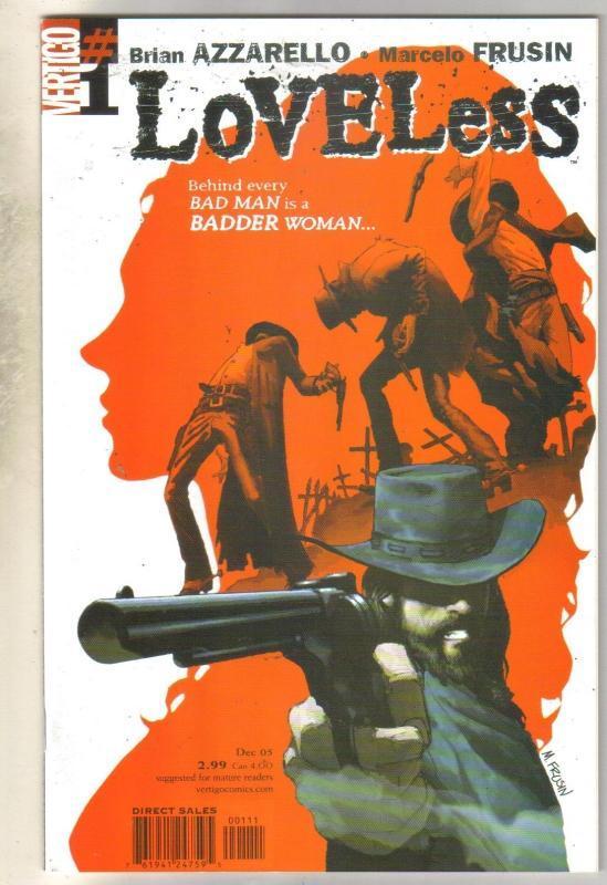 Loveless #1 comic book mint 9.8