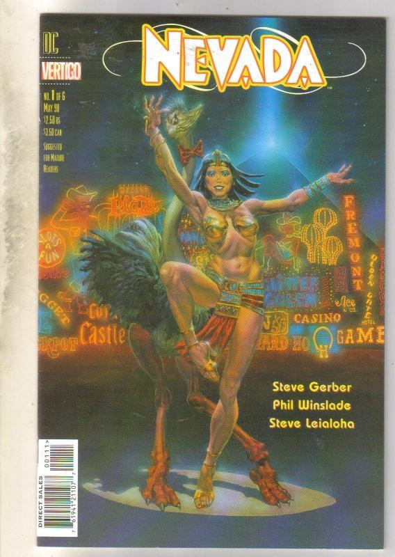 Nevada #1 DC Vertigo comic book near mint 9.4