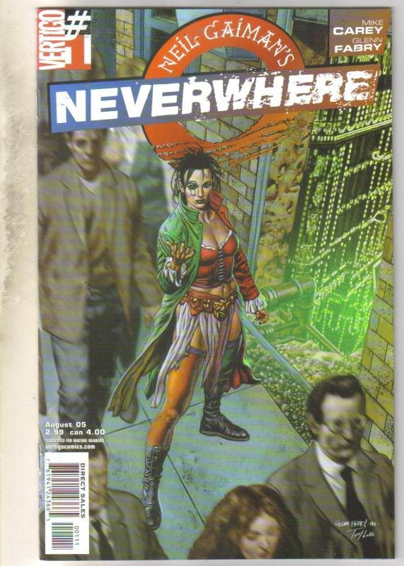 Neil Gaiman's Neverwhere #2 DC Vertigo comic book mint 9.8