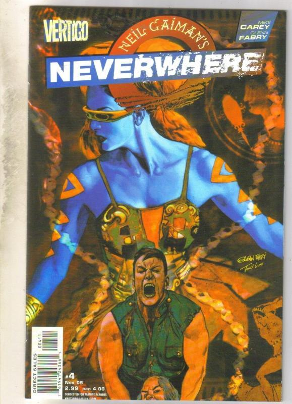 Neil Gaiman's Neverwhere #4 DC Vertigo comic book mint 9.8