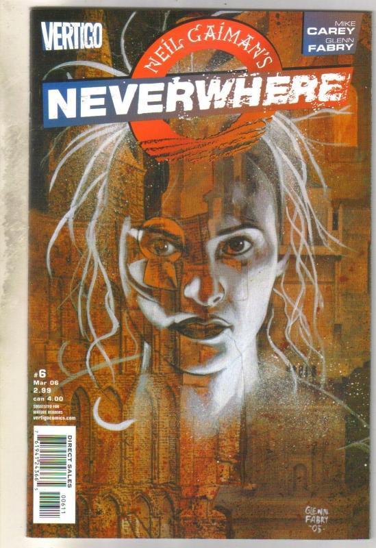 Neil Gaiman's Neverwhere #6 DC Vertigo comic book mint 9.8
