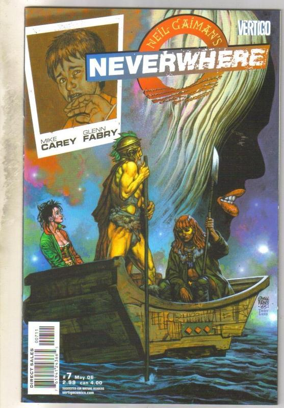 Neil Gaiman's Neverwhere #7 DC Vertigo comic book mint 9.8