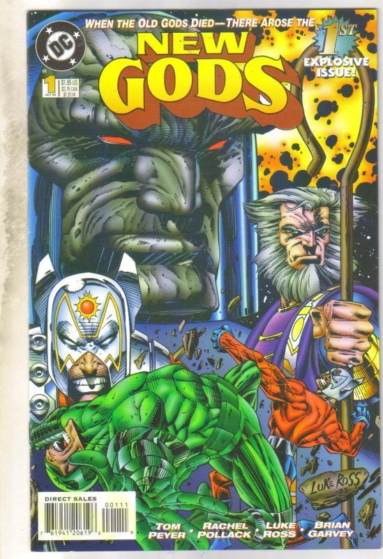 New Gods #1 comic book near mint 9.4