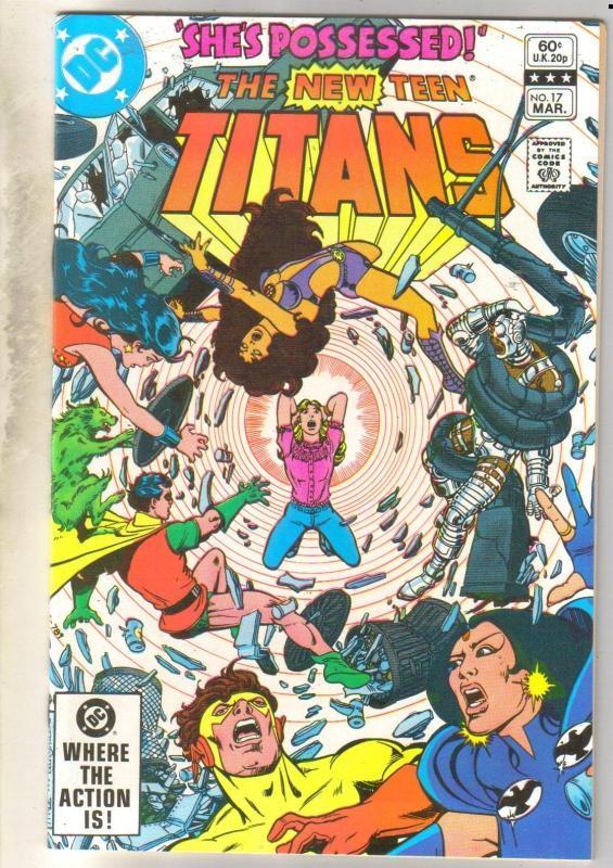 New Teen Titans #17 mint 9.8