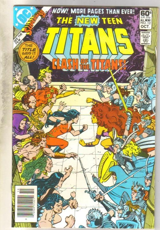 New Teen Titans #12 mint 9.4