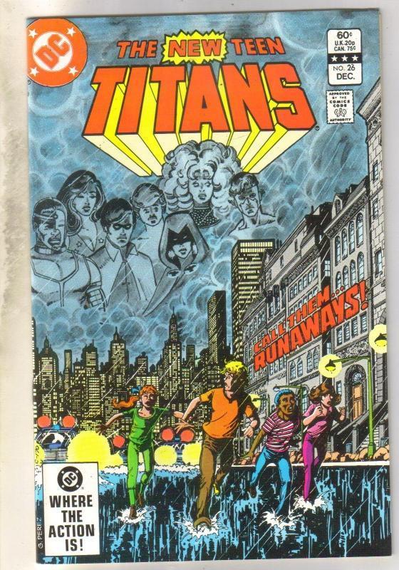New Teen Titans #26 mint 9.8