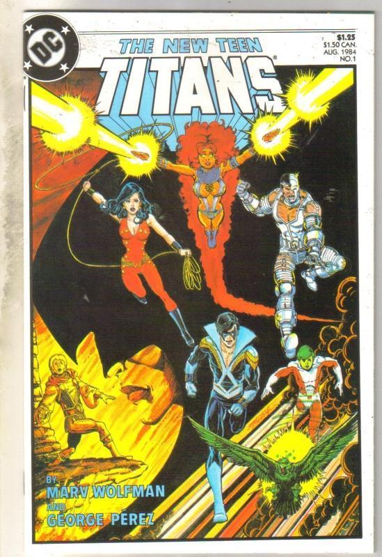 New Teen Titans #1 mint 9.8