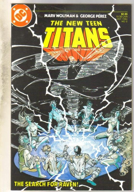 New Teen Titans #2 mint 9.8