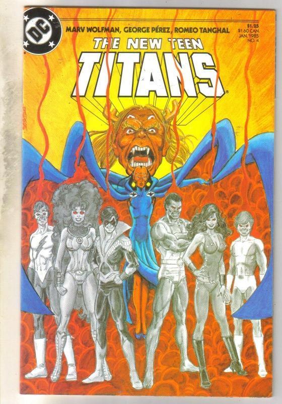 New Teen Titans #4 mint 9.8