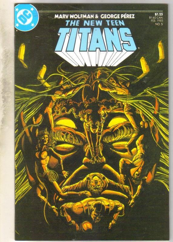 New Teen Titans #5 mint 9.8